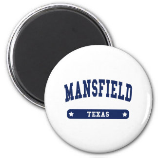 Mansfield Ohio College Style tee shirts 6 Cm Round Magnet