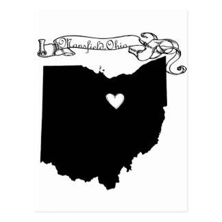 Mansfield Ohio Postcard
