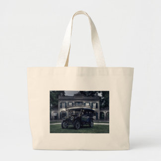 Mansion and Car Canvas Bags
