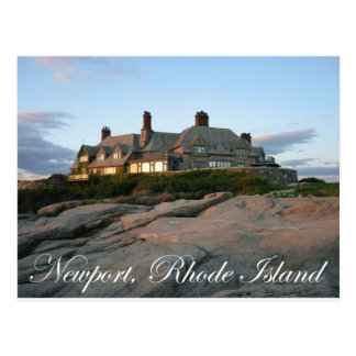 Mansion in Newport Postcard