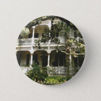 mansion in texas port arkansas 6 cm round badge