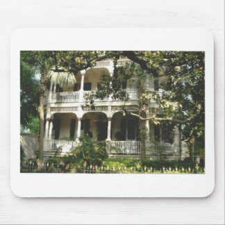 mansion in texas port arkansas mouse pad