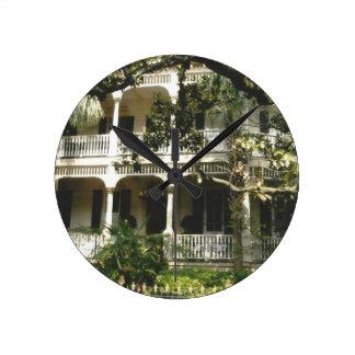 mansion in texas port arkansas round clock