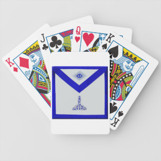 Mansonic Senior Warden Apron Bicycle Playing Cards