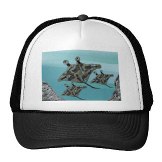 Manta Ray Family Trucker Hat
