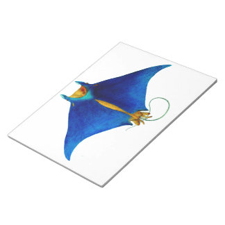 manta ray notepad
