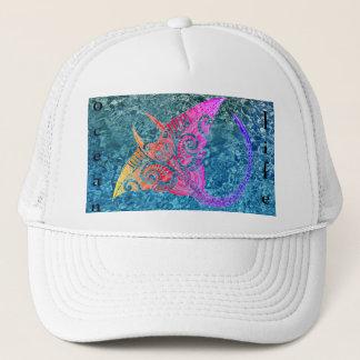 Manta Ray ocean life Trucker Hat