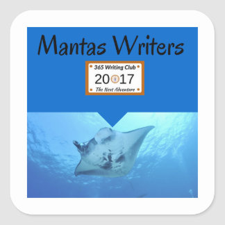 Manta Stickers! Square Sticker