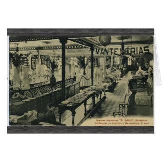 Mante Serias , Vintage Greeting Card