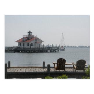 Manteo Waterfront Postcard