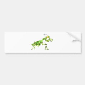 Mantis Bumper Sticker