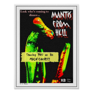 Mantis From Hell Posters