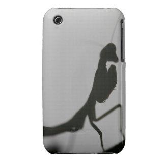 Mantis in Black iPhone 3 Cases