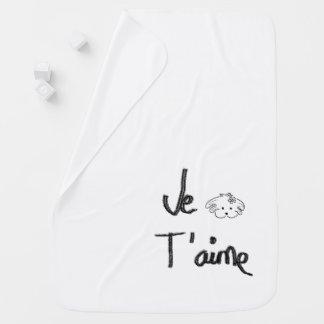 Mantita drinks white, the world of Lua Baby Blanket