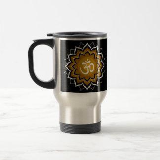 Mantra Chakra Creating a Spiritual Transformation Travel Mug