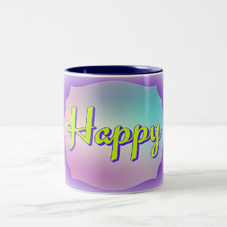 Mantra Mug Happy Colourful
