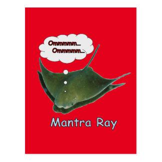 Mantra Ray Postcard