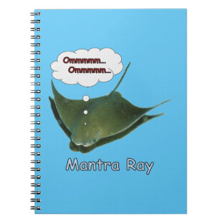 Mantra Ray Spiral Notebook