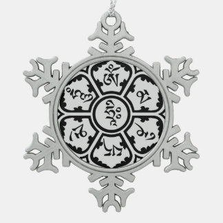 Mantra Snow Flake Ornament