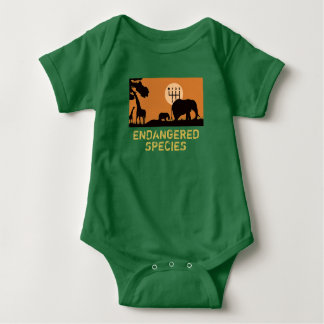 MANUAL- Endangered Baby Bodysuit