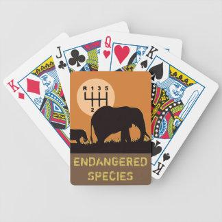 MANUAL - Endangered Bicycle Playing Cards