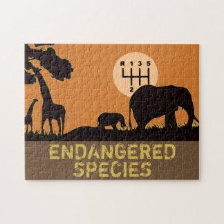 MANUAL - Endangered Jigsaw Puzzle