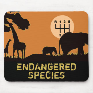 MANUAL - Endangered Mouse Pad