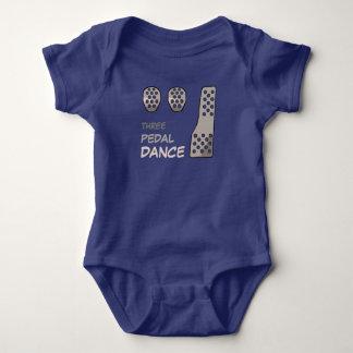 MANUAL Transmission - Three Pedal Dance Baby Bodysuit