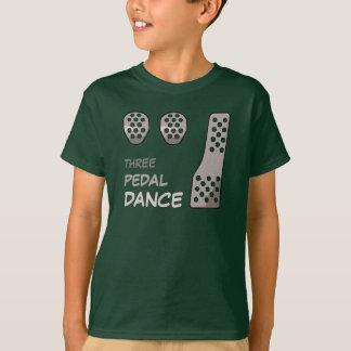 MANUAL Transmission - Three Pedal Dance T-Shirt