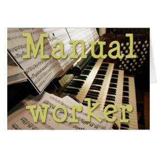 Manual worker card