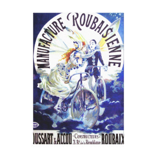 Manufacture Roubaisienne Vintage Advertisement Canvas Print