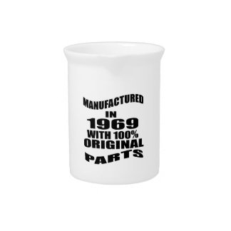 Manufactured  In 1969 With 100 % Original Parts Beverage Pitchers