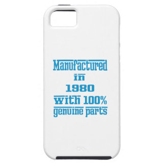 Manufactured in 1980 with 100% genuine parts iPhone 5/5S covers