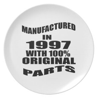 Manufactured  In 1997 With 100 % Original Parts Plate