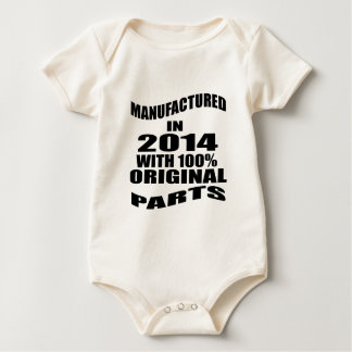 Manufactured  In 2014 With 100 % Original Parts Baby Bodysuit