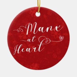 Manx At Heart, Christmas Tree Ornament