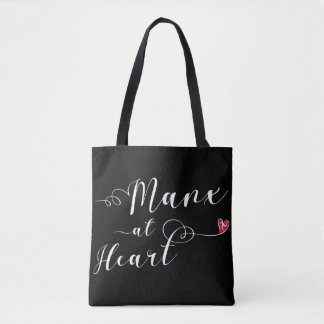 Manx At Heart Grocery Bag, Isle of Man Tote Bag