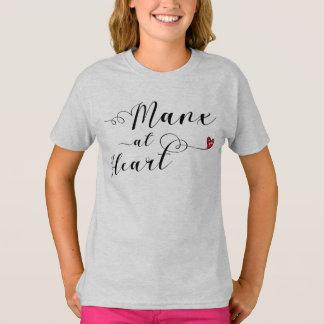 Manx At Heart Tee Shirt, Isle of Man