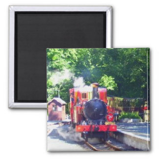 Manx steam train magnet