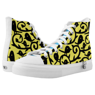 Many Birds Sunshine Happiness Printed Shoes