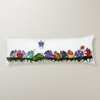 many cute Dragons body pillow