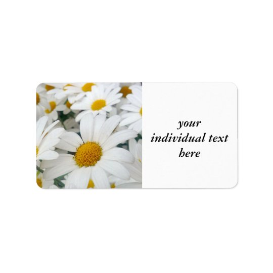 many Daisies Label