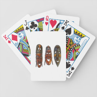 Many Faces Bicycle Playing Cards