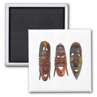 Many Faces Magnet