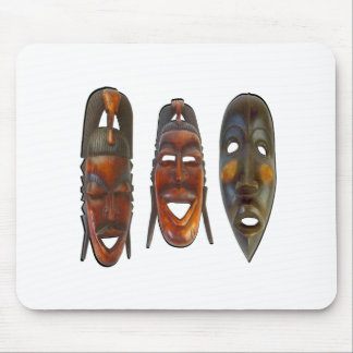 Many Faces Mouse Pad