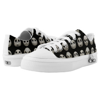 Many Faces of Jack Skellington - Pattern Low Tops