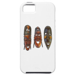Many Faces Tough iPhone 5 Case