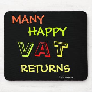 Many Happy VAT Returns Fun VAT Specialist Mousepad