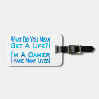 Many Lives Gamer Tags For Bags