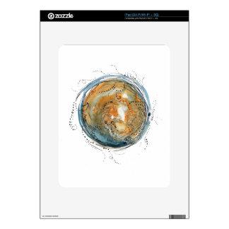 many moons ago iPad skin